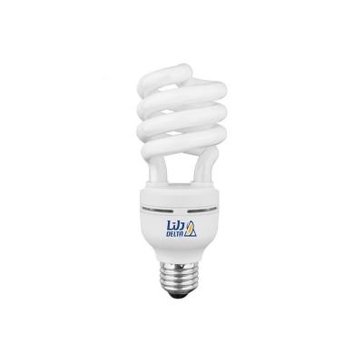 لامپ کم مصرف 20 وات نیم پیچ دلتا پایه E27