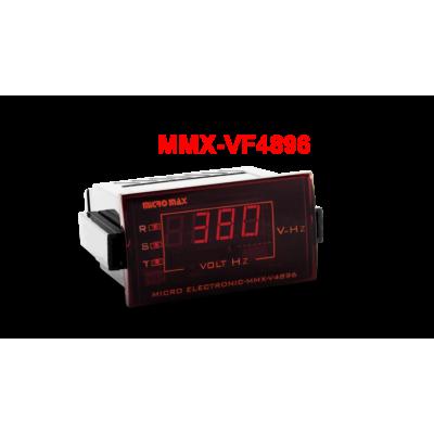 ولت متر سه فاز همراه با نمایش فرکانس MMX-VF4896