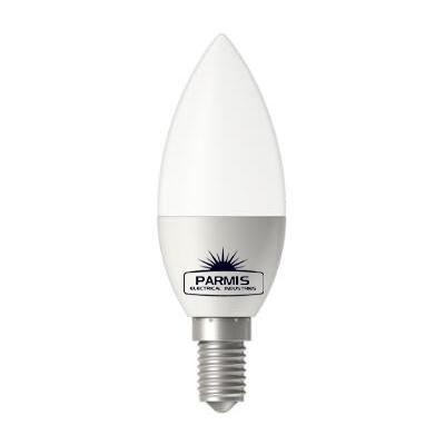 لامپ ال ای دی  5 وات شمعی پارمیس پایه E14
